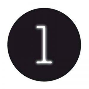 Lampe néon en Forme de Lettre, 10cm de Hauteur 23cm de Largeur de la marque Seletti image 0 produit