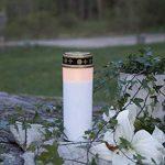 """'Lanterne Funéraire LED """"Serene flackernd Blanc env. 21x 7cm de la marque Best Season image 1 produit"""