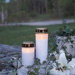 """'Lanterne Funéraire LED """"Serene flackernd Blanc env. 21x 7cm de la marque Best Season image 2 produit"""