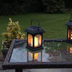 Lanterne Solaire et Bougie LED Effet Vacillant 15cm (Pile Rechargeable Incluse) de la marque Festive Lights image 3 produit