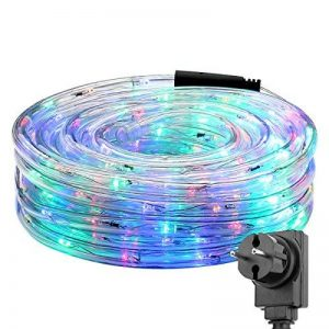 LE 10MTube Lumineux RVBJ, 6W 240LEDs, Résistant à l'Eau, Décoration intérieure et extérieure, pour créer une atmosphère, des lumières, des fêtes et des styles créatifs de la marque Lighting EVER image 0 produit