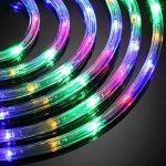 LE 10MTube Lumineux RVBJ, 6W 240LEDs, Résistant à l'Eau, Décoration intérieure et extérieure, pour créer une atmosphère, des lumières, des fêtes et des styles créatifs de la marque Lighting EVER image 3 produit
