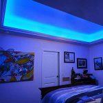 LE Lighting EVER 5m Ruban LED Bleu, Bande Lumineuse LED Bleue 12V, Flexible Idéal pour Décoration Intérieur Chambre Meuble Cuisine de la marque Lighting EVER image 4 produit