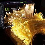 LE Lighting EVER Guirlande LED Rideau lumineux, 3m*3m, 8 Modes, Lumière Blanc Chaud, pour Décoration Rideau, Fenêtre, Jardin, Terrasse, Fêtes, Mariage de la marque Lighting EVER image 1 produit