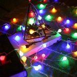 LE Lighting EVER Guirlande Lumineuse LED, 50 Boules LED 5M 4 Couleurs 8 Modes, à Piles, Guirlandes Boules pour Mariage Chambre Terrasse Pergola Balcon de la marque Lighting EVER image 1 produit