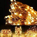 LE Lighting EVER Lot de 3 Guirlandes Lumineuses Pile 6m, LED Cuivre Etanche pour Décoration Photo Chambre Mariage Fêtes Soirée Anniversaire Table Chambre Sapin de Noël de la marque Lighting EVER image 4 produit
