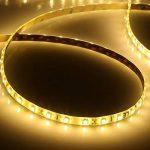 LE Lighting EVER Ruban LED 5m, Bande Lumineuse, Blanc Chaud, Etanche, SMD 2835 LED, pour Décoration Chambre Salon Meuble Cuisine Salle de Bain Terrasse Escalier de la marque Lighting EVER image 1 produit
