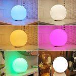 LED changement de couleur ampoules atmosphère Lampe de table RVB Changement de couleur Veilleuse Lampe d'ambiance/Lampe de chevet de la marque Lightbox image 2 produit