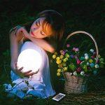 LED changement de couleur ampoules atmosphère Lampe de table RVB Changement de couleur Veilleuse Lampe d'ambiance/Lampe de chevet de la marque Lightbox image 4 produit