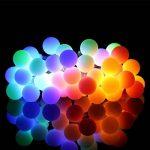 LED Globe Guirlande lumineuse,2 x 10 Mètres / 33FT 60 LEDs 8 modes port USB Décoration intérieur et pour Mariage Soirée Maison (Multi couleur) de la marque Tonskooners image 2 produit