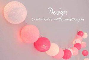 LED Guirlande Lumineuse 'Chambre de Petite Fille' avec boules en coton–20Boules cotton Lights, intérieur () de la marque Illuminate Your Home image 0 produit