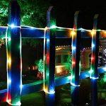 LED Guirlande lumineuse,KINGCOO Etanche 39ft 12M 100 LED conduit à énergie solaire tuyau souple Tube Rope Fil de cuivre de Noël étoilées de lumières pour le mariage Outdoor Garden Party (Multi-Couleurs) de la marque KINGCOO image 1 produit