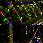 LED Guirlande lumineuse,KINGCOO Etanche 39ft 12M 100 LED conduit à énergie solaire tuyau souple Tube Rope Fil de cuivre de Noël étoilées de lumières pour le mariage Outdoor Garden Party (Multi-Couleurs) de la marque KINGCOO image 3 produit