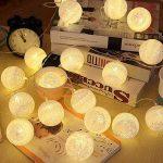 LED-Guirlandes Lumineuses,ELINKUME Blanc Chaud 20LEDs Lanternes Forme Série de Lampe 3.3M Long Belle Décoration D'intérieur éclairage Puissance de la Batterie Adapté aux Mariage, Fêtes, Cadeaux de la marque ELINKUME image 1 produit