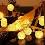LED-Guirlandes Lumineuses,ELINKUME Blanc Chaud 20LEDs Lanternes Forme Série de Lampe 3.3M Long Belle Décoration D'intérieur éclairage Puissance de la Batterie Adapté aux Mariage, Fêtes, Cadeaux de la marque ELINKUME image 4 produit