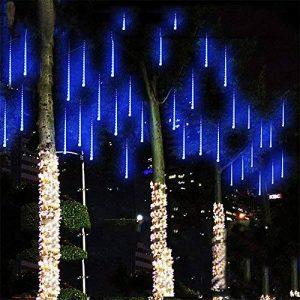 Led Meteor Douche Chute De Pluie Glaçon Neige Extérieure Guirlandes Lumières Étanche Jardin 30 cm 8 Tube 144 LEDs Chambre D'intérieur Briller Cool Chute De Neige Éclairage De La Bande Pour de la marque AIHOME image 0 produit