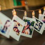 LED Photo Clip Guirlandes, 20 Clips Photo pour Hanging Photos Party Halloween Décoration de Noël (Warm White) de la marque Leisuretime image 1 produit