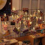 LED Photo Clips Lumière Chaînes, 40 Photo Clips 5M, Tomshine Photo Clip String Light, Batterie fonctionnant, pour photo suspendu Memos oeuvres d'art(batterie non incluse) de la marque Tomshine image 1 produit