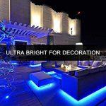 LED ruban Bande LED Lumineuse - Duractron Ruban à LED Etanche (5m) 5050 RGB SMD Multicolore 300 LEDs 60W, avec Télécommande à Infrarouge 44 Touches et Alimentation 5A 12V de la marque Duractron image 3 produit