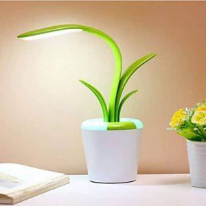 LED Touch Dimming Night Light USB Charge Lampe De Table Creative Clivia, Lampe De Bureau De Protection Des Yeux Étudiant,Green de la marque YL-Light image 0 produit