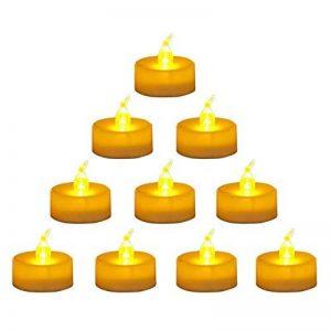 LEDGLE Lot de 24 Bougies à LED Sans Flamme, Bougies chauffe-plats Non-scintillement pour la Décoration de Table, Soirée, Anniversaire, Mariage de la marque LEDGLE image 0 produit