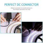 LEDMO KIT Ruban LED,DC12V SMD 5630-300LEDs Ruban LED,IP65 imperméable Blanc Froid Lumière Bande Lumineuse LED,300LEDs,Pack avec Bande LED 5M et Transformateur 12V 5A. de la marque LEDMO image 3 produit