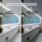 LEDMO Ruban LED Blanc 6000K DC12V SMD5630-300leds 5M lumière du jour 25lm/LED,IP65 étanche Pack avec Bande LED 5M(Pas d'alimentation 12V 5A) de la marque LEDMO image 4 produit