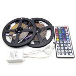 LEDMOMO 5M LED Strip Lights imperméable IP65 LED Flexible Multicolor RGB LED Light Strip Tape pour Décoration + 44 Key Remote Controller (2pcs) de la marque LEDMOMO image 1 produit