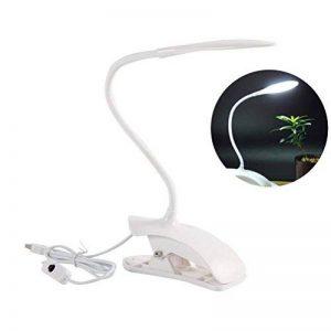 LEDMOMO Lampe à clip Pliable Lampe de Bureau à Pince Rechargeable avec USB Lampe de Protection des yeux pour lire ou étude de la marque LEDMOMO image 0 produit