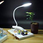 LEDMOMO Lampe à clip Pliable Lampe de Bureau à Pince Rechargeable avec USB Lampe de Protection des yeux pour lire ou étude de la marque LEDMOMO image 2 produit