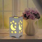 LEDMOMO Lampe de Chevet décorative Lampe de table Design Veilleuse décoration avec lune et étoile de la marque LEDMOMO image 2 produit
