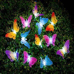 LEDMOMO Led Chaîne Solaire Lumière Multi Couleur Papillon Guirlande Lumineuse Étanche Lumière Extérieure Maison Jardin Patio Pelouse Partie Décor Éclairage de la marque LEDMOMO image 0 produit