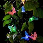 LEDMOMO Led Chaîne Solaire Lumière Multi Couleur Papillon Guirlande Lumineuse Étanche Lumière Extérieure Maison Jardin Patio Pelouse Partie Décor Éclairage de la marque LEDMOMO image 2 produit