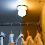 LEDMOMO LED Lumière de nuit, Capteur de mouvement sans fil Veilleuses USB Rechargeable Lampe murale automatique 2 Modes d'éclairage Bâton Anywhere Placard Escalier Salle de bain Cuisine Nursery Chambre de bébé (Bleu) de la marque LEDMOMO image 4 produit