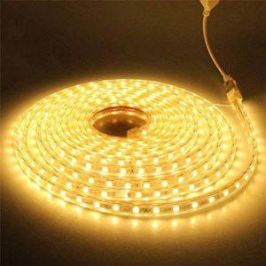 ledmomo Lit lumière bandes Leuchten 220V bande LED étanche Décoration 2m (Blanc chaud) de la marque LEDMOMO image 0 produit