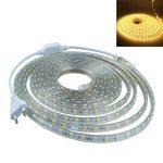 ledmomo Lit lumière bandes Leuchten 220V bande LED étanche Décoration 2m (Blanc chaud) de la marque LEDMOMO image 1 produit