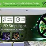 Les lumières de bande de 16,4ft LED 12V 5A RGBW ont mené les lumières de bande SMD5050 300Leds éclairage non-décoratif décoratif pour la partie de cuisine de pièce par Uhomely de la marque Uhomely image 3 produit