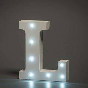 lettre lumineuse led TOP 6 image 0 produit
