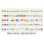 Lettres nombres symboles et emojis Signe du cinéma pour A4 Lightbox Spécial FestivalDécoration 104 Noir, 104 Coloré Lettres, nombres, 85 emoji Signe Par Freeas de la marque Freeas image 3 produit