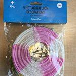 Lights4fun Assortiment DE 5 Lampions Montgolfière de Couleurs Pastelles en Papier de la marque Lights4fun image 4 produit