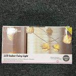 Lights4fun Guirlande Lumineuse 30 Fleurs Blanches à LED Blanc Chaud pour Intérieur de la marque Lights4fun image 4 produit