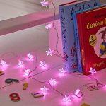 Lights4fun Guirlande Lumineuse d'Intérieur 30 Etoiles avec LED Roses de la marque Lights4fun image 1 produit