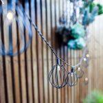 Lights4fun Guirlande Lumineuse LED Solaire 10 Lanternes Cages en Métal Noir Style Industriel de la marque Lights4fun image 1 produit