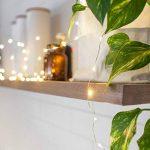 Lights4fun Guirlande Lumineuse à Piles avec 50 Micro LED Blanc Chaud sur Câble Argenté de la marque Lights4fun image 1 produit