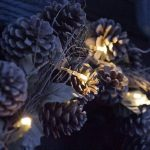 Lights4fun Lot de 10 x Guirlandes Lumineuses à Piles avec 10 LED Blanc Chaud de de la marque Lights4fun image 2 produit
