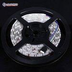 LinkSquare (1m / 2m / 3m / 4m / 5m) ENSEMBLE COMPLET Multicolore 5050 (60LEDs/m) CC 12V Étanche IP65 Flexible Souple Bande de RVB (RGB) SMD LED Lampe Lumière Rubans de Fées Éclairage Chaîne Lumineuse avec 44 Key Clé Touches IR Télécommande Manette Contrôl image 2 produit