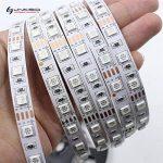 LinkSquare (1m / 2m / 3m / 4m / 5m) Multicolore 5050 (60LEDs/m) CC 12V Non Étanche IP20 Flexible Souple Auto-Adhésif Autocollant Bande de RVB (RGB) SMD LED Lampe Lumière Rubans de Fées Éclairage avec 44 Key Clé Touches IR Télécommande Sans Fil et CC12V 6A image 2 produit