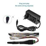 Liqoo Secteur Chargeur Adaptateur d'alimentation DC 12V 1A 12W Câble Prise EU pour Alimenter Ordinateur Imprimante Ruban LED TFT Écran LCD Routeur de la marque Liqoo image 1 produit