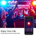 Lohas E14Wifi ampoules Bougie à LED, fonctionne avec Alexa et Google Home, 5W équivalent à 40W Ampoule LED, RGB + Blanc chaud lumière d'ambiance à changement de couleur, contrôlé par les appareils intelligents, absence de Hue, Lot de 2 de la marque Loh image 1 produit