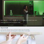 Lombex Wifi Smart Bande Eclairage Flexible ruban kit d'éclairage Compatible avec Alexa à distance contrôle vocal RVB LED strip lumière d'ambiance changeant de couleur ruban DIY lumières pour jardin Maison de cuisine de voiture Barre de fête, Rgb Strip 5m, image 4 produit
